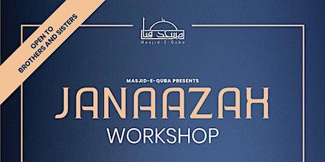 Janaazah workshop  tickets