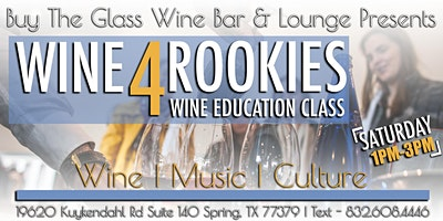 Wine 4 Rookies| Cookie Decorating & Wine Tasting Class