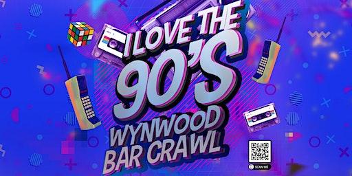 Throw Back To The 90's Wynwood Bar Crawl!