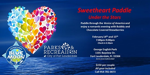 Sweetheart Paddle Tour