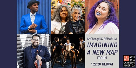 IMAGINING A NEW MAP forum at ArtChangeUS REMAP: LA Artist-Led Equity tickets