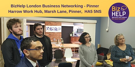 BizHelp London Business Networking - Pinner tickets