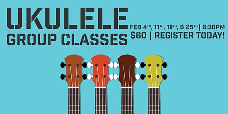 UKULELE GROUP CLASSES tickets