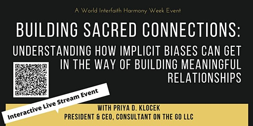 Building Sacred Connections: Hamilton Location - Live Stream