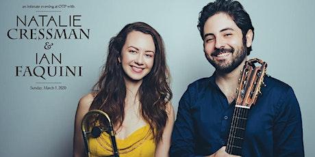 Natalie Cressman & Ian Faquini tickets