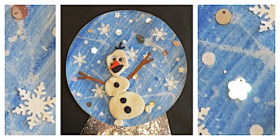 Mommy's Time Off- Frozen 2D Snow Globe (3-9 Years)