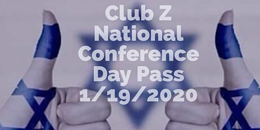 Club Z National Conference Teen Day Pass
