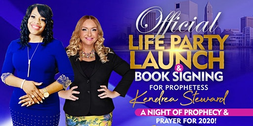 Official Life Party & Book Signing