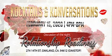 Kocktails & Konversations tickets