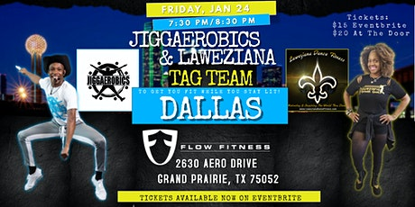Jiggaerobics + Laweziana Dance Fitness Tag Team tickets