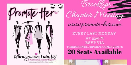 Promote Her Brooklyn Chapter Meetings tickets