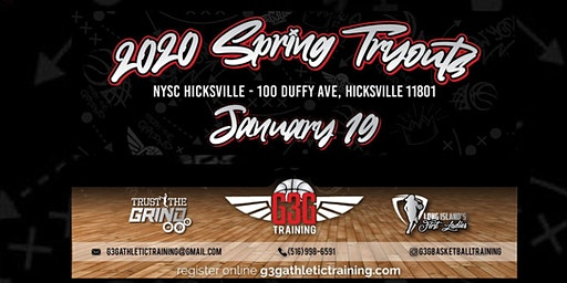 AAU Spring Travel Basketball Tryouts