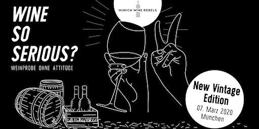 Munich Wine Rebels - PopUp Wine Tasting + Dinner - NEW VINTAGE Edition