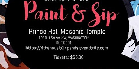 4th Annual Paint and Sip tickets