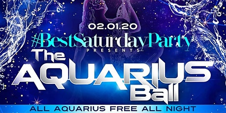 The Aquarius Ball w/ Power 105's DJ Prostyle @ Taj II – All Aquarius FREE! tickets