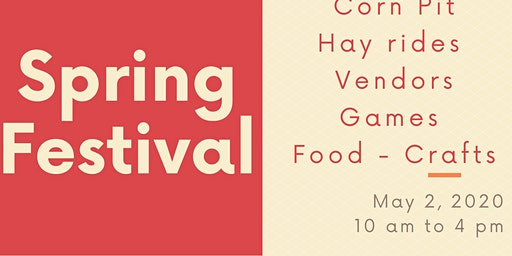 Vendors Wanted For Spring Festival 2020