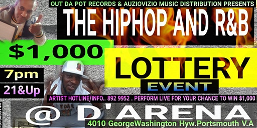 The HipHop and R&B $1,000 LOTTERY