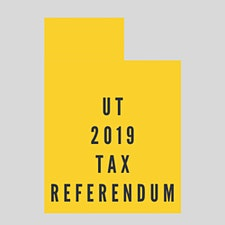 Utah 2019 Tax Referendum logo
