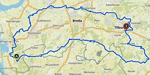 Bierbrouwersroute 236 Km by cycling team de bolusberg