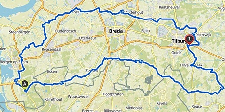 Bierbrouwersroute 220 Km by cycling team de bolusberg tickets