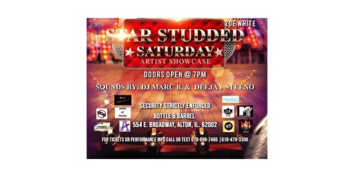 STAR STUDDED SATURDAY ARTIST SHOWCASE & AFTERPARTY