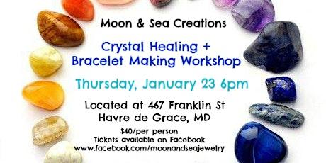 Crystal Healing + Bracelet Making Workshop tickets