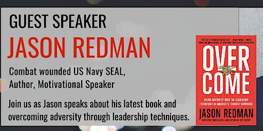 Fundraising Talk & Book Signing by Combat Wounded Navy SEAL Jay Redman