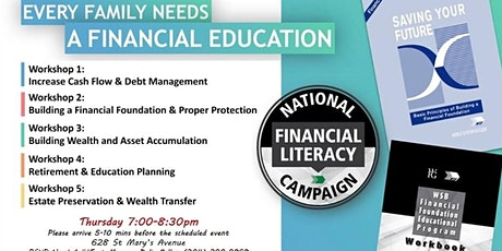 Financial Education Workshop-Thursday tickets