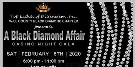 A Black Diamond Affair:  Casino Night Gala tickets