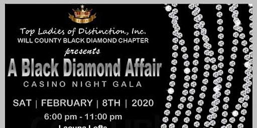 A Black Diamond Affair:  Casino Night Gala