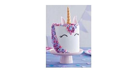 Valentine's Unicorn Cake Decorating Workshop tickets