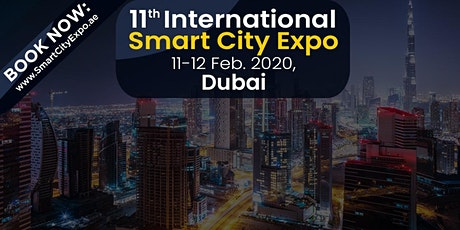 11th International Smart City Expo 2020, Dubai, UAE tickets