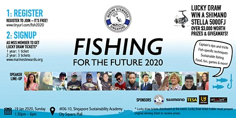 Fishing For the Future 2020 tickets
