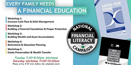 Financial Education Workshop-Tuesday tickets