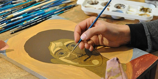 Byzantine icon painting and gilding workshop in Paris