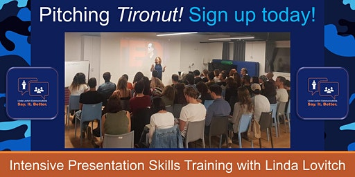 Pitch Tironut -- Two Session Presentation Skills Training