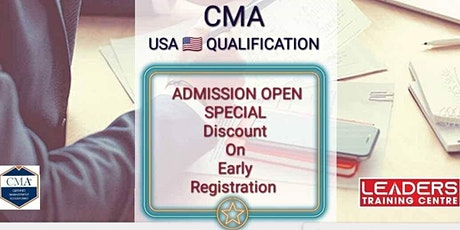 CERTIFIED MANAGEMENT ACCOUNTANT (CMA) tickets
