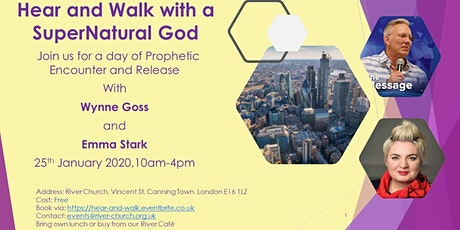Hear and Walk with a SuperNatural God tickets