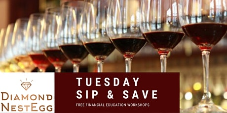 Sip & Save Financial Series: Improving Your Credit Score & Paying off Debt tickets