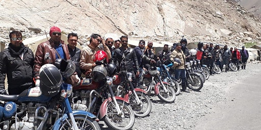 RIDE HIMALAYAS-11 Days/ 10 Nights- 2020