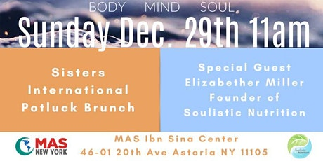 A taste of wellness (Muslim American Society of Queens) tickets