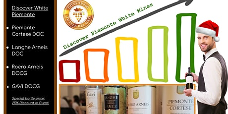 Discover Piemonte White Wines A1s Tickets