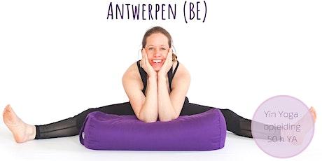 Yin Yoga Opleiding Antwerpen Belgie ( verdieping Yin Yoga & Energie 50h YA)  tickets