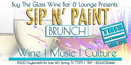 Sip n' Paint Brunch | A Paint & Wine Experience