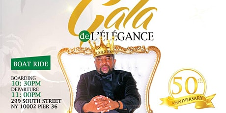 GOLDEN GALA 50TH YEARS OF DJ YVES TOGOLAIS CELEBRATION BOAT PARTY tickets