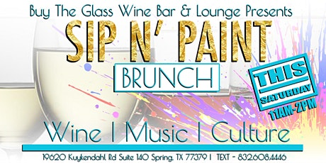 Sip n' Paint Brunch | A Paint & Wine Experience tickets