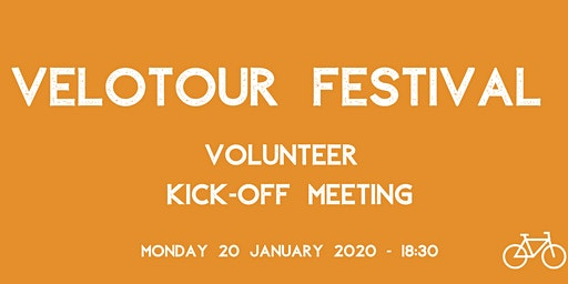 VeloTour Festival | Volunteer Kick-off Meeting