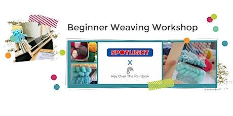 Beginner Weaving Workshop tickets