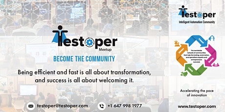 Testoper Meetup June 13, 2020 (Data Science, Analytics and AI/ML) tickets
