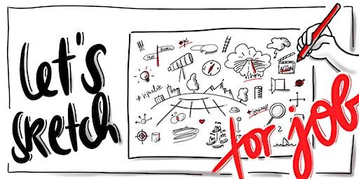 """Let´s sketch for job - Visualisierung von Informationen im Beruf via """"Sketchnotes"""""""